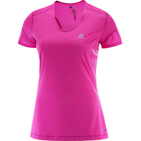 Salomon W's Trail Runner SS Tee rose violet